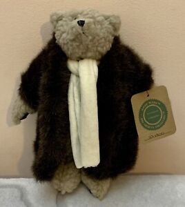 """Boyds Bears 1990 The Archive Collection Soft Plush Teddy Bear """"Skidoo"""""""