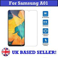 100% Genuine Tempered Glass Screen Protector for Samsung Galaxy A01 SM-A015f