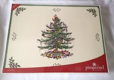 Spode Christmas Tree Tablemats x 4 NEW