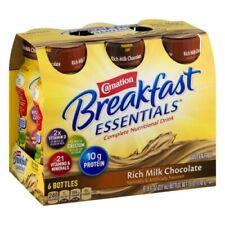 Carnation Breakfast Essentials Rich Milk Chocolate ( 6- 8 fl oz bottles )