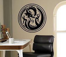 Dragon Wall Vinyl Decal Monster Vinyl Sticker Medieval Home Bedroom Interior 4