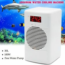 100W Fish Tank Shrimp Aquarium Water Cooling Fan Machine Chiller 30L & Pump Kit