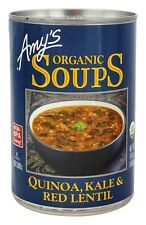 Amy's - Organic Soup Quinoa, Kale & Red Lentil - 14.4 oz.