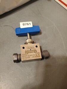10V6071 High Pressure Needle Valve 15000 psi HT-A12222 02118-004 316 parker