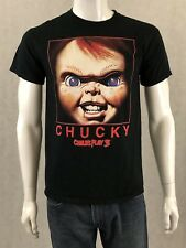 CHUCKY SHORT SLEEVE T-SHIRT Child's Play 3 Official Movie Chucky Doll Medium