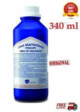 PHILLIPS MILK OF MAGNESIA -Traditional Soothing Relief *NEW* 340 ml - 11.5 oz