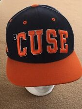 cheap for discount 9bfcd ac010 Syracuse Orange Men  Cuse Raised Letter Top Of The World Snapback Cap Hat