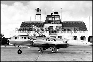 USAF T-33 Shooting Star Randolph AFB 8x12 Photo