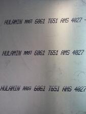 Aluminium Plate Sheet 6061 T6 14 X 36 X 48