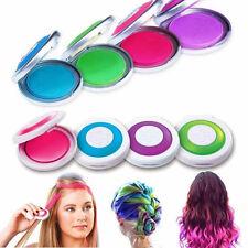4Pcs Tiza Para Pelo Temporal Tinte De Cabello Colores Peluquería Navidad