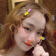 Mixed Cartoon Panda Bear Hair Clips Barrette Gummy Bear Candy Hairpin Kids Girls