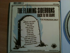 THE FLAMING SIDEBURNS ~'BACK TO THE GRAVE' ~Rare DANISH PROMO ONLY CD 2006~NEW