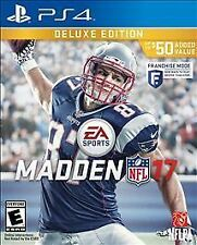 Madden NFL 17 - Sony Playstation 4 Game - Complete