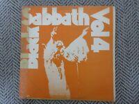 Black Sabbath - Black Sabbath Vol 4 Korea LP RARE