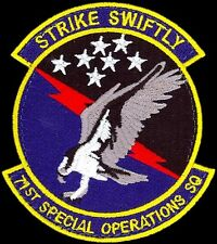USAF 71st SPECIAL OPERATIONS SQUADRON-SOS- Kirtland AFB, NM - ORIGINAL VEL PATCH