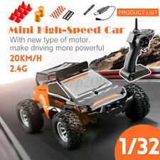 2.4G Controller 1/32 Mini RC Scale High-Speed Toys Car RTR Drift 2 Speed Modes