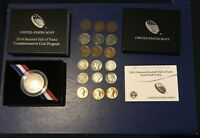 2014 National Baseball Hall of Fame Clad Proof Half-Dollar w/Box and Cert+Bonus!