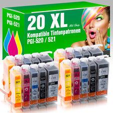 20 Druckerpatronen für Canon MX 870 mit Chip