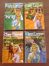 CLARE CARSON Bush Nurse In The Australian Outback. Four Titles. Book Series