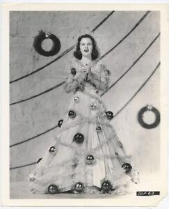 DEANNA DURBIN 1939 Vintage Hollywood Portrait CHRISTMAS TINSEL