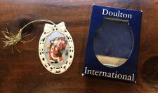 Royal Doulton International 1994 Victorian Whimsies Patchwork Santa Ornament