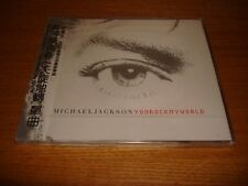 Michael Jackson You Rock My World OBI Taiwan CD Single sealed MEGA RARE