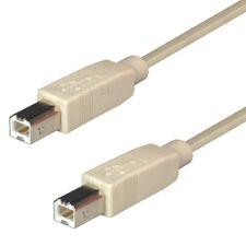 USB 2.0 Kabel 3 m B - B Stecker Anschlusskabel für Router Drucker Druckerkabel
