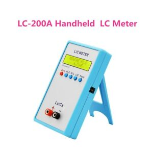 Portable LC200A LCD Capacitance Inductance Meter L/C Inductor 1pF-100mF 1uH-100H