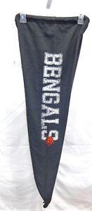 Cincinnati Bengals Football Ladies Capri Sweatpants Lounge Pants Gray