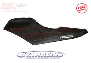 SeaDoo 2012-2020 RXP-X 260 300 JetTrim RIVA Seat Cover RED Stitch Black NEW