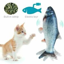 Cat Toy Electric Simulation Fish Usb Charging Cat's Fish Toys Playing Relax Us