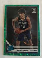 2019-20 Optic Jaxson Hayes Fanatics Green Prizm Wave SP RC Rated Rookie