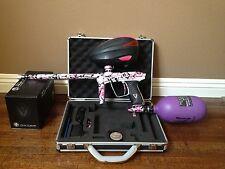 Luxe 2.0 Special Edition Pink Splash with Pink rotor and Purple ninja tank