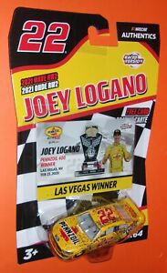 2021 wave RW2  Joey Logano #22 Pennzoil Nascar Authentics Ford Mustang 21599