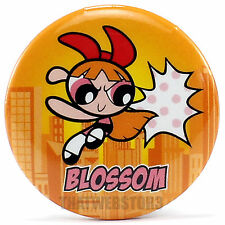 "The Powerpuff Girls Blossom 1.25"" Button ~ Officially Licensed ~ NEW"