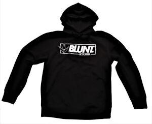 Blunt Scooters Hooded Sweatshirt / Hoody  - Black/White