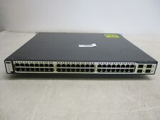 Cisco 3750G Series PoE-48 WS-C3750G-48PS-S V05 Switch IOS not loaded