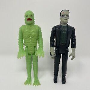 Vintage Remco Frankenstein & Glow in the Dark Creature from the Black Lagoon