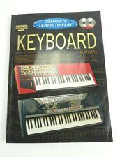 Progressive Complete Learn to Play Keyboard Manual Peter Gelling Paperback + 2CD