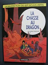La Malédiction des sept boules vertes 4 EO La Chasse au Dragon Parcelier Rare