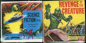 8MM SILENT 2 PACK-CREATURE FROM THE LAGOON/REVENGE OF THE CREATURE-CASTLE FILMS