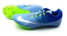 Nike Zoom Rival S Track Sprint Shoes Women's Size 12 Light Blue Volt Racing