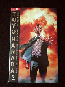 "LIFE & DEATH OF TOYO HARADA #1 CVR A SUAYAN VALIANT ENTERTAINMENT ""GOLD BOOK"""