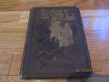1887 LYRICS OF HOME-LAND Eugene J Hall JOHN C BUCKBEE & CO CHICAGO HC/IL