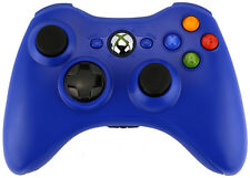 Xbox 360 Custom Wireless Controller (Blue) (Refurbished)