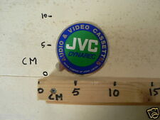 STICKER,DECAL JVC DYNAREC AUDIO & VIDEO CASSETTES JAPAN