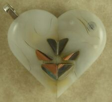 Illusionist Locket #3944 Thin Magic Silver Butterfly Pendant by Illusion Lockets