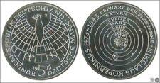 Alemania / Federal    KM00136 PROOF 5 Marcos 1973 J / Copernico / 11,20 gr. Pla