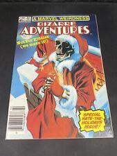 Marvel Weirdness BIZARRE ADVENTURES (1981 Series) #34