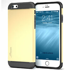 roocase Apple iPhone 6/6S Exec Tough Case, Champagne Gold